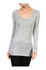 Trendy Long Sleeve Scoop Neck Top - BodiLove | 30% Off First Order - 11
