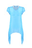 Sheer Chiffon Tunic Top with Flare Hem Line - BodiLove | 30% Off First Order  - 3
