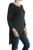 3/4 Dolman Sleeve Hi-Low Tunic - BodiLove | 30% Off First Order - 3