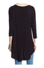 3/4 Dolman Sleeve Hi-Low Tunic - BodiLove | 30% Off First Order - 5