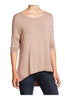 3/4 Dolman Sleeve Hi-Low Tunic - BodiLove | 30% Off First Order - 12