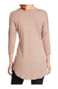 3/4 Dolman Sleeve Hi-Low Tunic - BodiLove | 30% Off First Order - 13