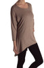 3/4 Dolman Sleeve Hi-Low Tunic - BodiLove | 30% Off First Order - 15