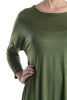 3/4 Dolman Sleeve Hi-Low Tunic - BodiLove | 30% Off First Order - 34