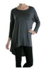3/4 Dolman Sleeve Hi-Low Tunic - BodiLove | 30% Off First Order - 37