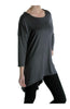3/4 Dolman Sleeve Hi-Low Tunic - BodiLove | 30% Off First Order - 38