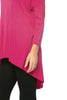 3/4 Dolman Sleeve Hi-Low Tunic - BodiLove | 30% Off First Order - 42