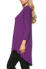 3/4 Dolman Sleeve Hi-Low Tunic - BodiLove | 30% Off First Order - 45