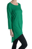 3/4 Dolman Sleeve Hi-Low Tunic - BodiLove | 30% Off First Order - 49