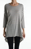 3/4 Dolman Sleeve Hi-Low Tunic - BodiLove | 30% Off First Order - 56