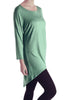 3/4 Dolman Sleeve Hi-Low Tunic - BodiLove | 30% Off First Order - 63