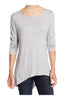 3/4 Dolman Sleeve Hi-Low Tunic - BodiLove | 30% Off First Order - 64