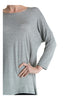 3/4 Dolman Sleeve Hi-Low Tunic - BodiLove | 30% Off First Order - 67