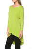 3/4 Dolman Sleeve Hi-Low Tunic - BodiLove | 30% Off First Order - 70