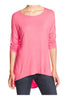 3/4 Dolman Sleeve Hi-Low Tunic - BodiLove | 30% Off First Order - 80