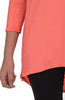 3/4 Dolman Sleeve Hi-Low Tunic - BodiLove | 30% Off First Order - 83