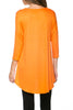 3/4 Dolman Sleeve Hi-Low Tunic - BodiLove | 30% Off First Order - 85