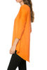 3/4 Dolman Sleeve Hi-Low Tunic - BodiLove | 30% Off First Order - 86