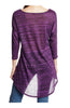 3/4 Dolman Sleeve Hi-Low Tunic - BodiLove | 30% Off First Order - 97