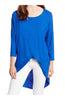 3/4 Dolman Sleeve Hi-Low Tunic - BodiLove | 30% Off First Order - 104