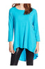 3/4 Dolman Sleeve Hi-Low Tunic - BodiLove | 30% Off First Order - 108