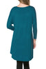 3/4 Dolman Sleeve Hi-Low Tunic - BodiLove | 30% Off First Order - 117