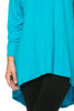 3/4 Dolman Sleeve Hi-Low Tunic - BodiLove | 30% Off First Order - 123