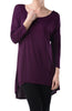 3/4 Dolman Sleeve Hi-Low Tunic - BodiLove | 30% Off First Order - 196