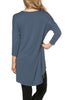 3/4 Dolman Sleeve Hi-Low Tunic - BodiLove | 30% Off First Order - 213