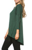 3/4 Dolman Sleeve Hi-Low Tunic - BodiLove | 30% Off First Order - 186