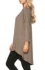 3/4 Dolman Sleeve Hi-Low Tunic - BodiLove | 30% Off First Order - 246