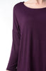 3/4 Dolman Sleeve Hi-Low Tunic - BodiLove | 30% Off First Order - 203