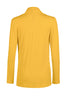 Long Sleeve Criss Cross Drape Front Top - BodiLove | 30% Off First Order - 38 | Mustard