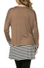 Long Dolman Sleeve Tunic W/ Striped Hem - BodiLove | 30% Off First Order  - 12