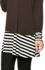 Long Dolman Sleeve Tunic W/ Striped Hem - BodiLove | 30% Off First Order  - 24