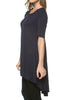 Short Sleeve Basic Hi-Low Tunic Top - BodiLove | 30% Off First Order  - 16