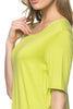 Short Sleeve Basic Hi-Low Tunic Top - BodiLove | 30% Off First Order  - 33