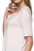 Short Sleeve Basic Hi-Low Tunic Top - BodiLove | 30% Off First Order  - 37
