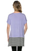 Short Sleeve Knit Tunic W/ Striped Hem - BodiLove | 30% Off First Order  - 29