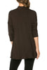 3/4 Sleeve Draped Cowl Neck Top - BodiLove | 30% Off First Order  - 6