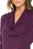 3/4 Sleeve Draped Cowl Neck Top - BodiLove | 30% Off First Order  - 12