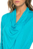 3/4 Sleeve Draped Cowl Neck Top - BodiLove | 30% Off First Order  - 36