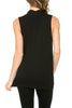 Sleeveless Cowl Neck Tunic Top - BodiLove | 30% Off First Order  - 2