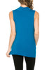 Sleeveless Cowl Neck Tunic Top - BodiLove | 30% Off First Order  - 6