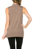 Sleeveless Cowl Neck Tunic Top - BodiLove | 30% Off First Order  - 10
