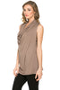 Sleeveless Cowl Neck Tunic Top - BodiLove | 30% Off First Order  - 11