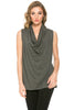 Sleeveless Cowl Neck Tunic Top - BodiLove | 30% Off First Order  - 13