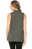 Sleeveless Cowl Neck Tunic Top - BodiLove | 30% Off First Order  - 14