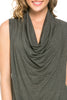 Sleeveless Cowl Neck Tunic Top - BodiLove | 30% Off First Order  - 16