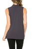 Sleeveless Cowl Neck Tunic Top - BodiLove | 30% Off First Order  - 29